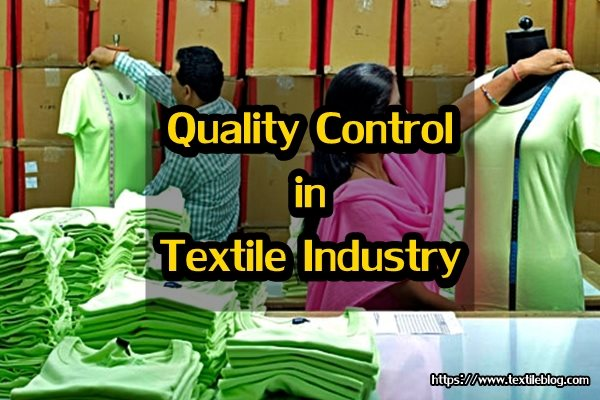 Quality Control in Textile Industry