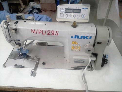 Plain sewing machine