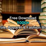 Free Download 1000+ Textile, Apparel and Fashion Books
