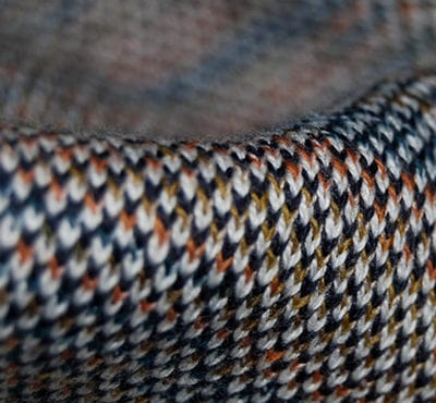 Bird's eye knit fabric