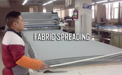 fabric spreading