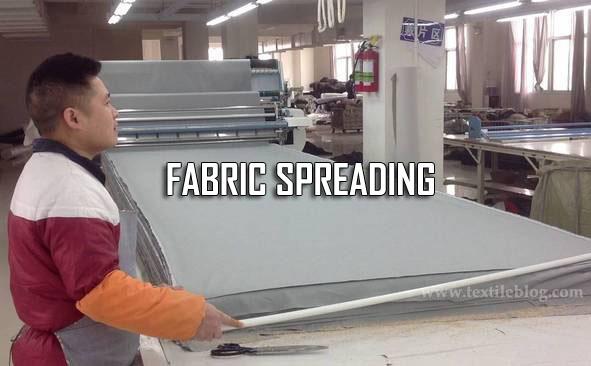 fabric spreading