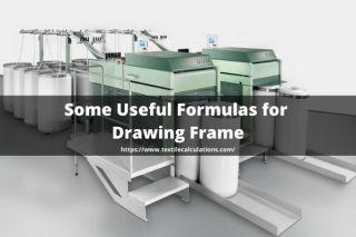 Useful Formulas for Drawing Frame