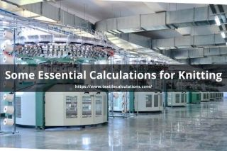 Essential Calculations for Knitting