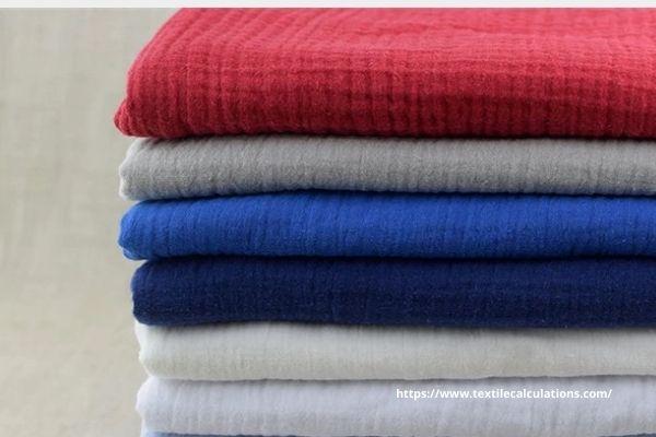 Calculate Crimp Percentage of Woven Fabric