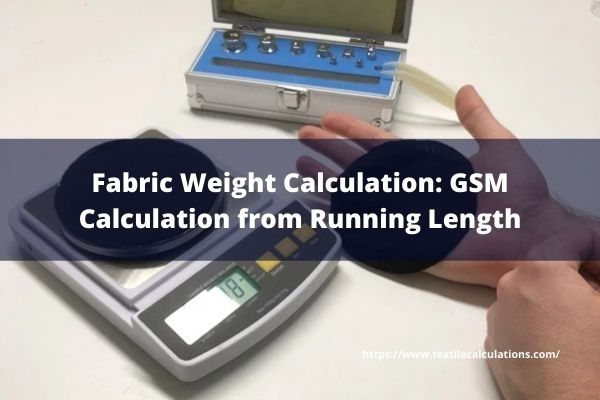 Fabric Weight Calculation