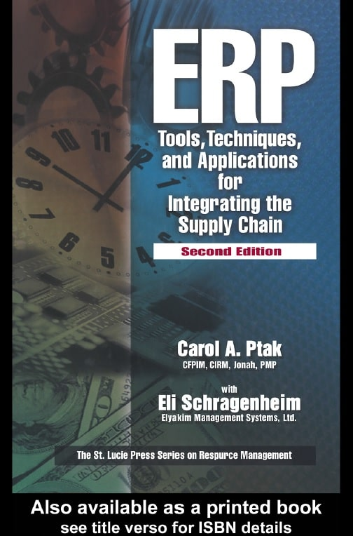 ERP- Tools, Techniques, and Applications for Integrating the Supply Chain