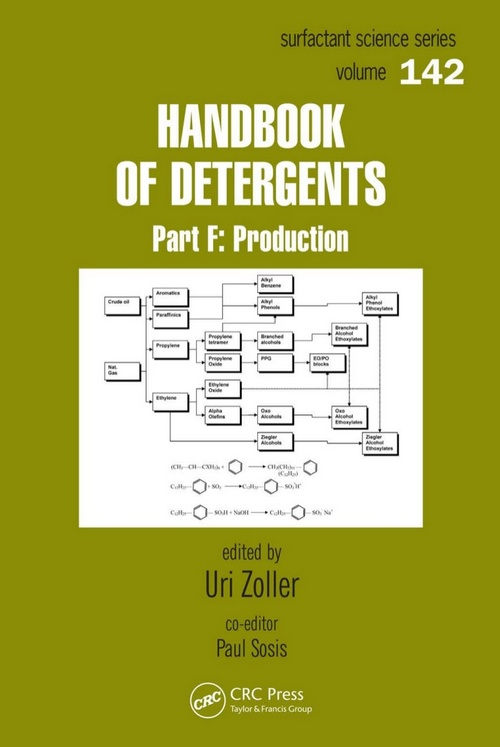 Handbook of Detergents Production, Part F Edited by Uri Zoller