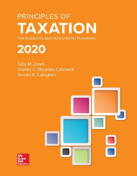 Principles of Taxation 2020 edition