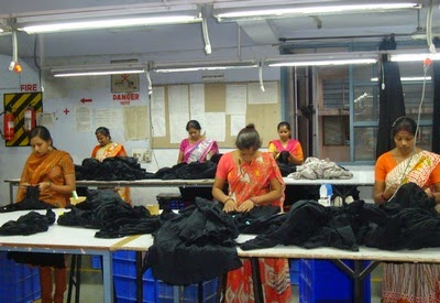 Process Flow Chart of Quality Section of Garment Industry