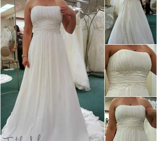 Wedding Dress Part 1: Trying on Dresses