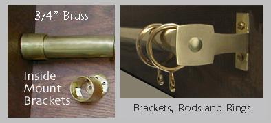 3 4 brass rods