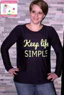 Oversize Shirt Amylee - Schnittmuster by textilsucht