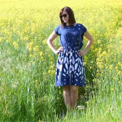 Schnittmuster Kleid Federleicht