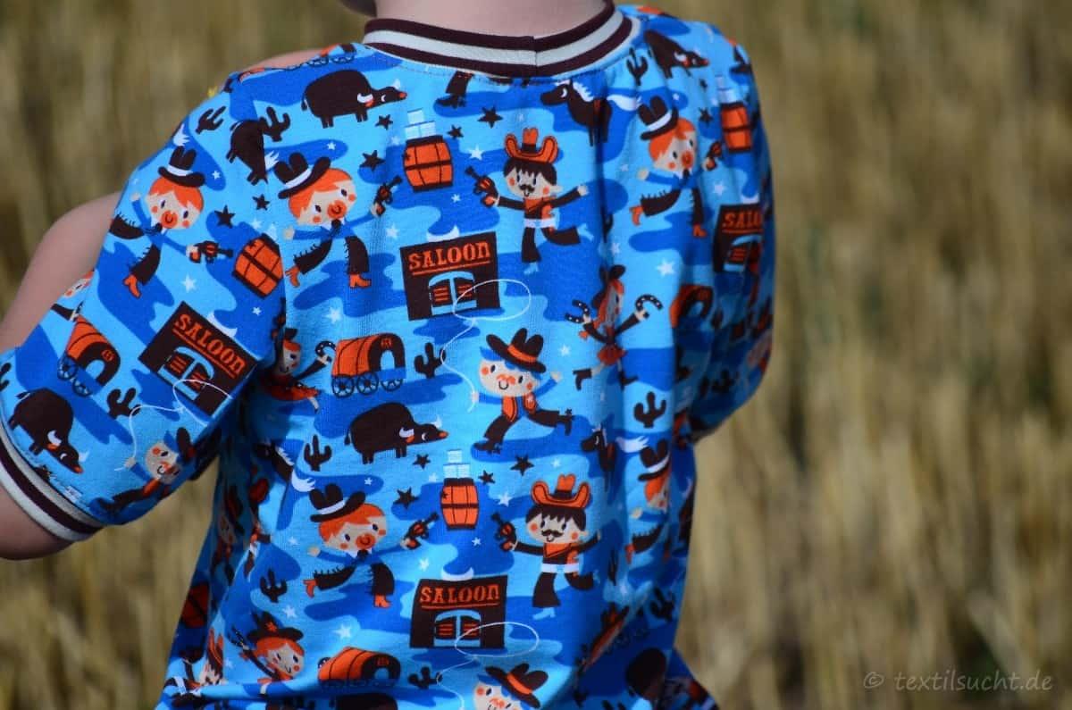 Cowboy-Shirt und Upcycling-Jeans - Für Jungs genäht - Bild 3   textilsucht.de