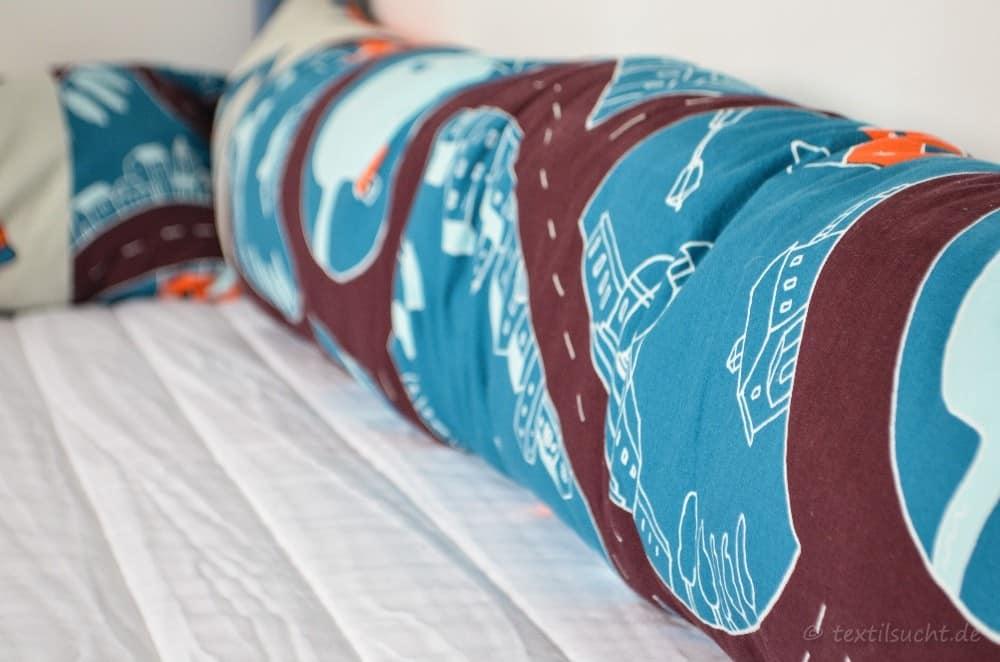 Eine neue Bettumrandung für unser XXL-Hausbett - Bild 2 | textilsucht.de