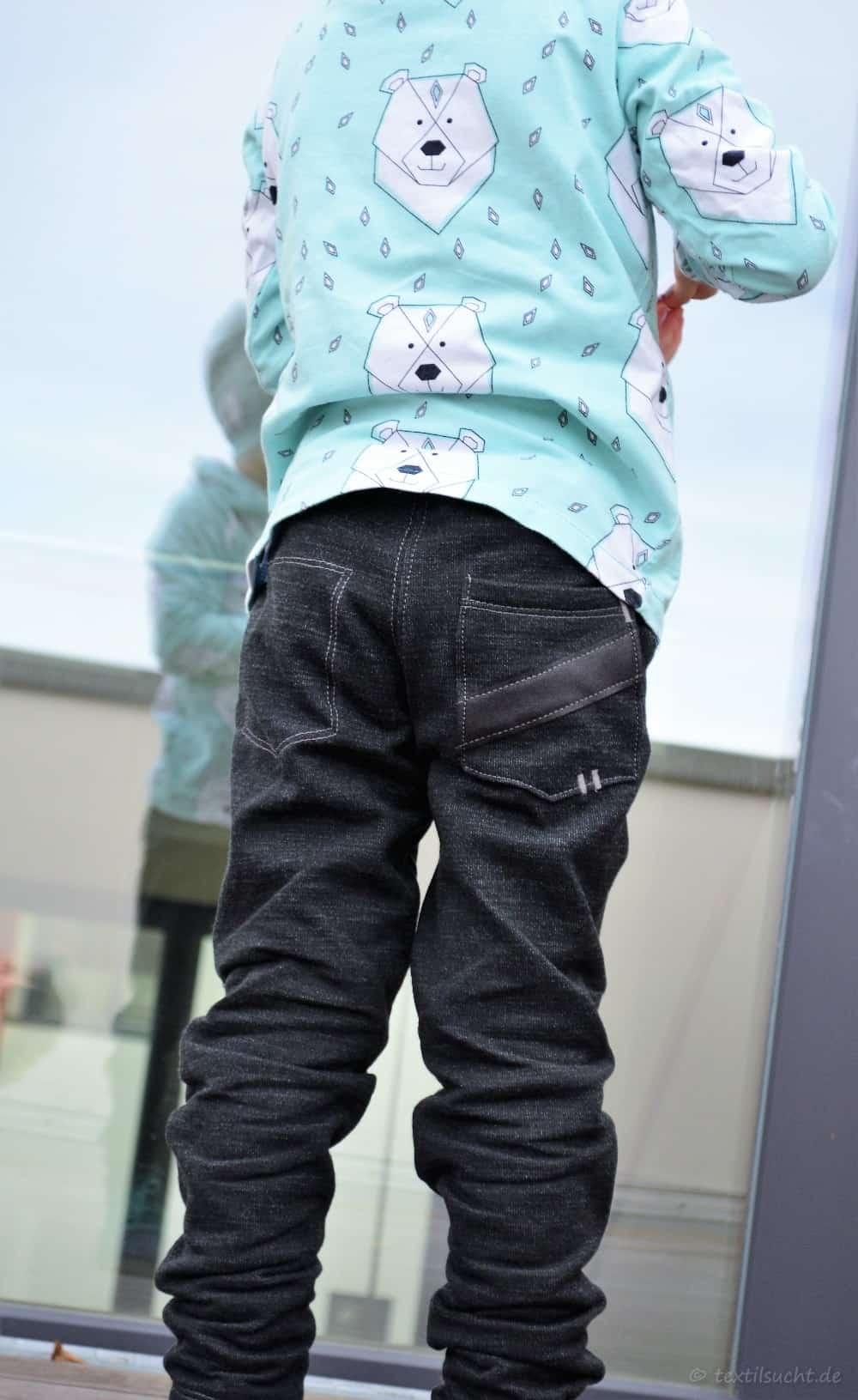 Schnittmuster Kinderhose Steppo aus Wollsweat - Bild 12 | textilsucht.de