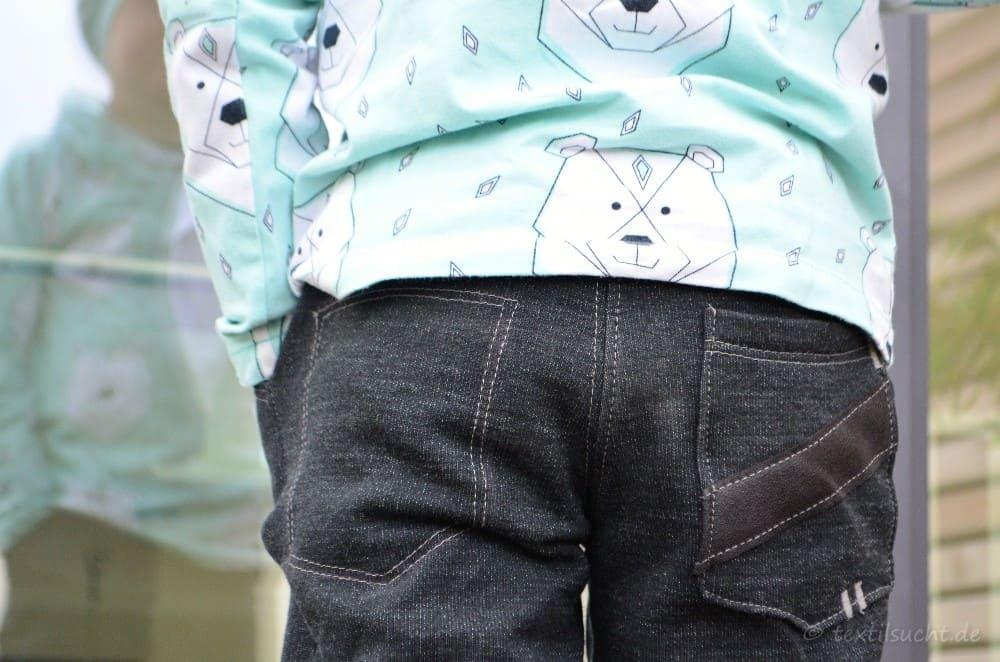 Schnittmuster Kinderhose Steppo aus Wollsweat - Bild 7 | textilsucht.de