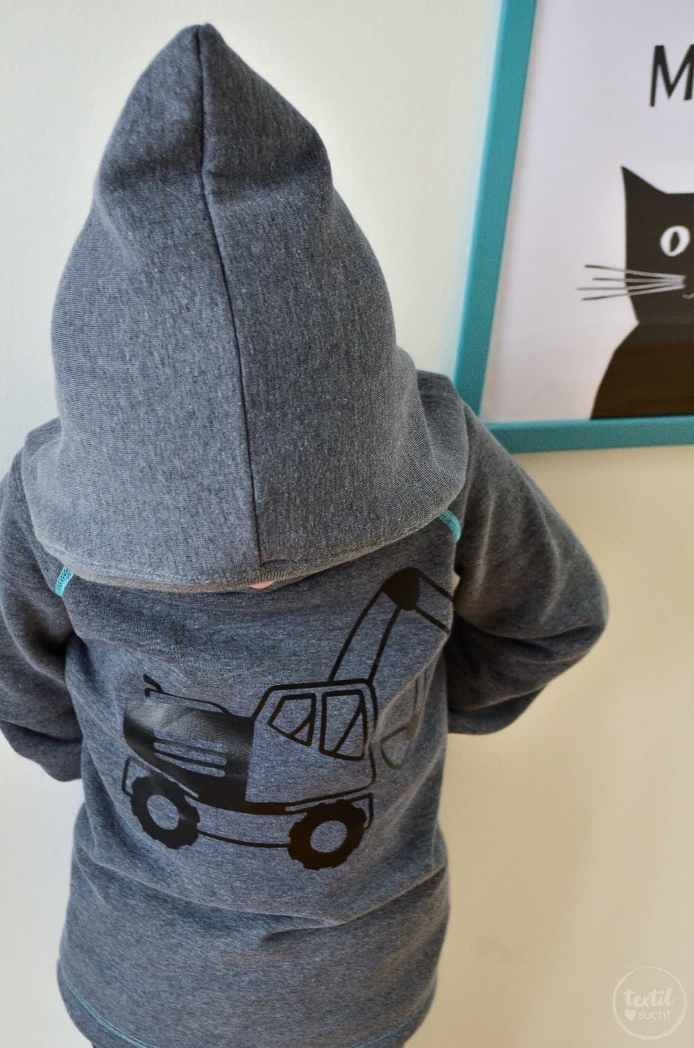 Kapuzenpullover nähen: Raglansweater Max und Maxi - Bild 2 | textilsucht.de