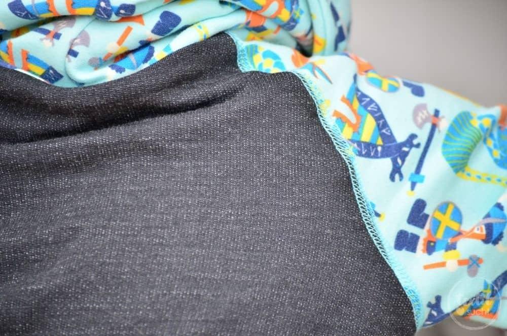 Kinderkleidung nähen: Pullover und Hose aus Wikinger Sweat von Swafing - Bild 4 | textilsucht.de