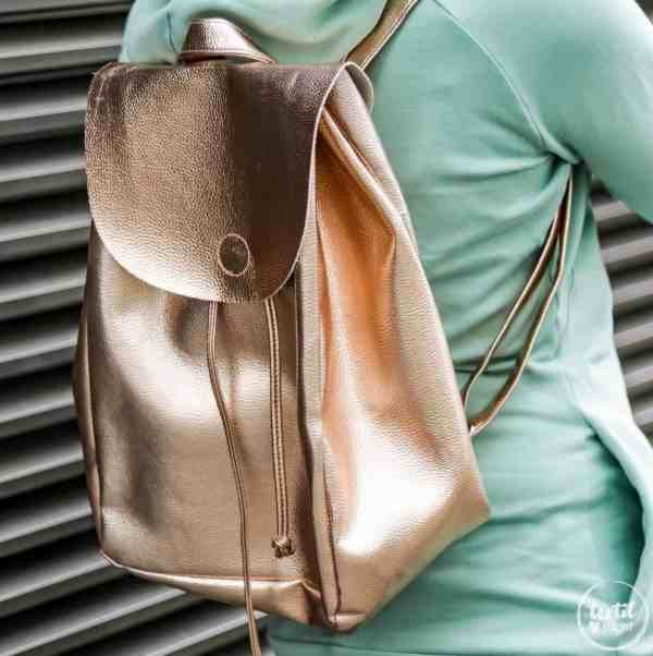Schnittmuster Rucksack - Easy Day Bag - inkl. Nähanleitung