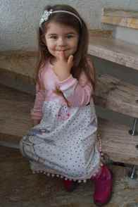 Papierschnittmuster Kinderkleid Kelani - inkl. Nähanleitung