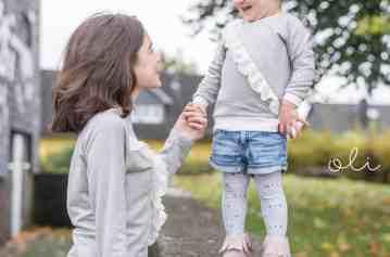 Schnittmuster Rüschenshirt Kinder – inkl. Nähanleitung