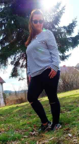 Schnittmuster Longshirt Rania mit Rückenausschnitt