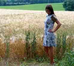 Schnittmuster Kleid Adiva