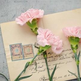 Díselo a mano: Cartas con mensajes caracterizados.