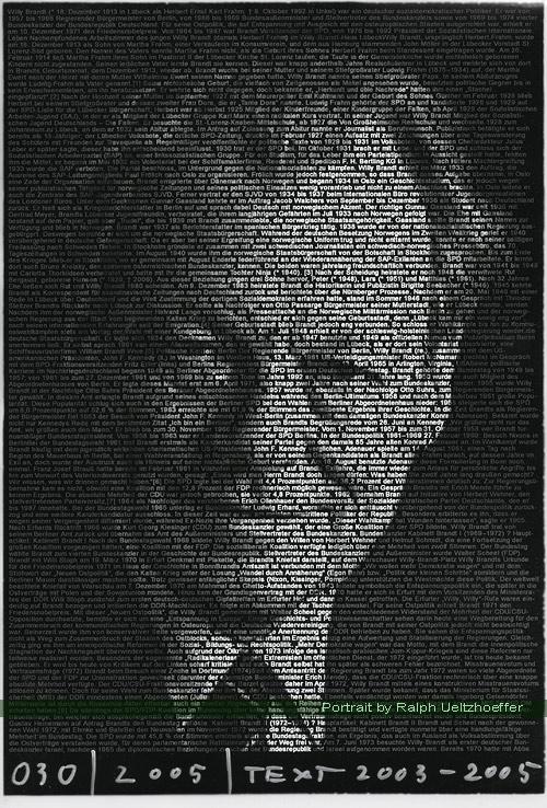 Willy Brandt, Ralph Ueltzhoeffer Textportrait