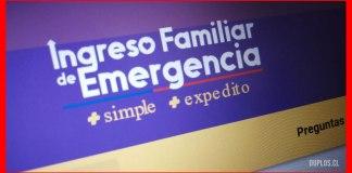 Ingreso Familiar de Emergencia 2021