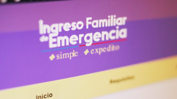 Ingreso Familiar de Emergencia IFE TEXTUAL_CL