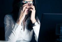 La fatiga visual se ha hecho más común durante la pandemia