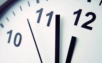 El cambio de hora será en septiembre