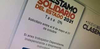 El Préstamo Solidario esta disponible hasta octubre de este año
