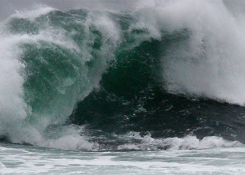 Se anuncian marejadas anormales para este fin de semana en el sur de chile