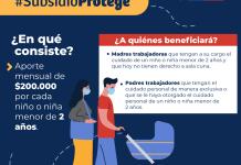 El 20 de septiembre se cumple el plazo para postular al Subsidio Protege.