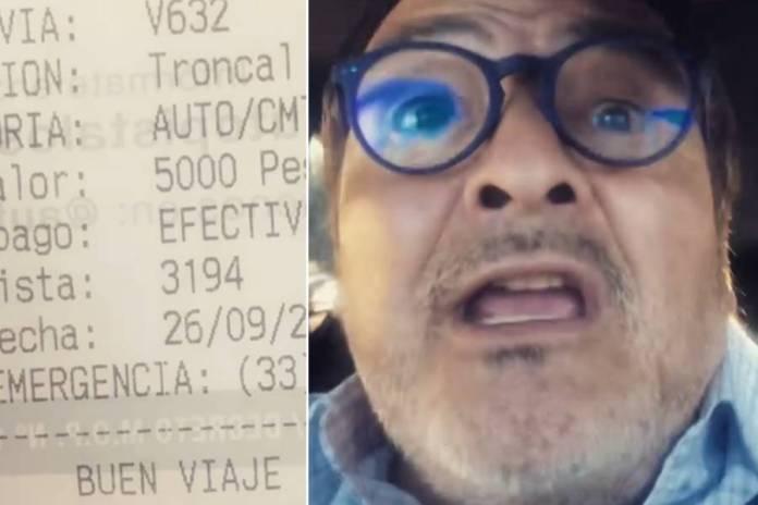 Integrante del grupo humorístico Los Atletas de la Risa reclamó por alto precio de peaje