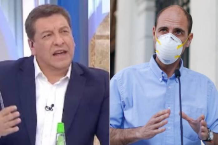 Julio César Rodríguez tuvo una fuerte discusión con el constituyente Arrau