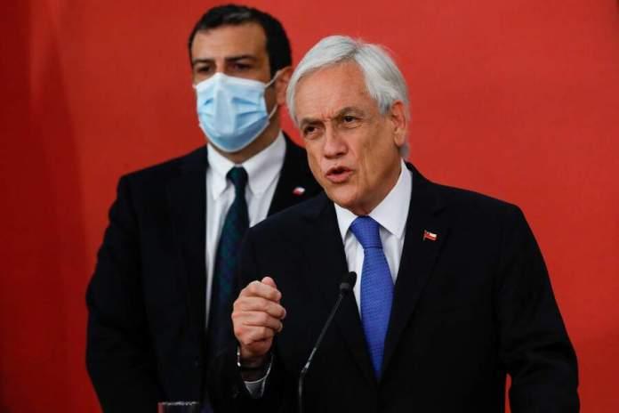 El Presidente Piñera confirmó el decreto de Estado de Excepción que había sido anunciado