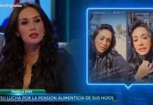 Pamela Díaz pensión