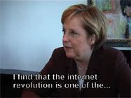 Angela Merkel und die Internetrevolution