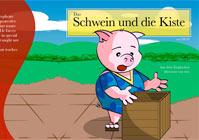 Das Schwein und die Kiste