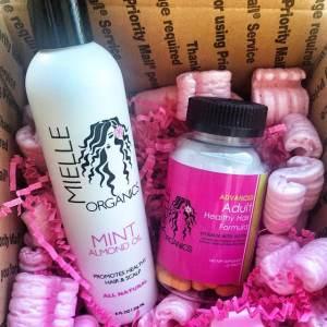 Mielle Organics Hair Vitamins and Mint Almond Oil