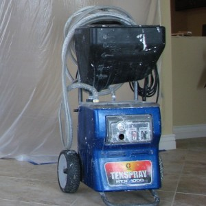 Mid size texture machine - Graco RTX 1000