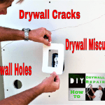 Learn how to easily fix 3 of the most common drywall repairs in 1 video!