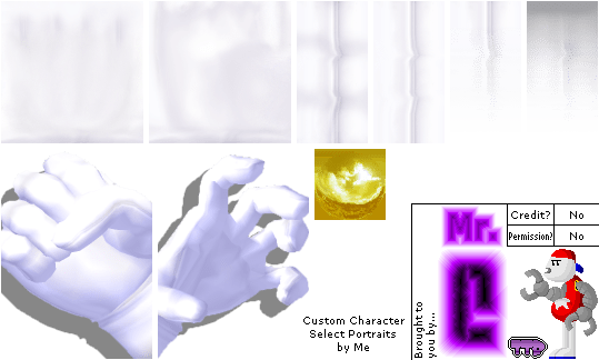 GameCube Super Smash Bros Melee Master Hand Amp Crazy Hand The Textures Resource