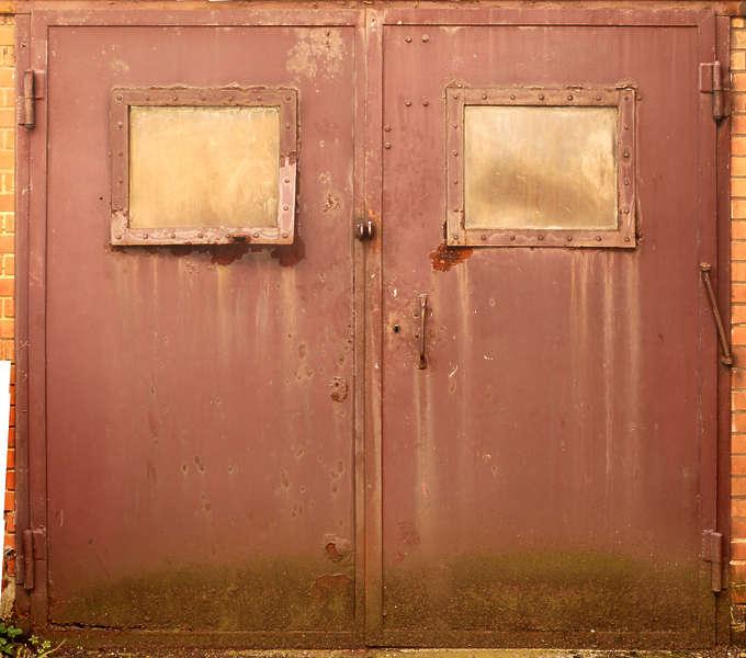Doorsmetaldouble0122 Free Background Texture Door