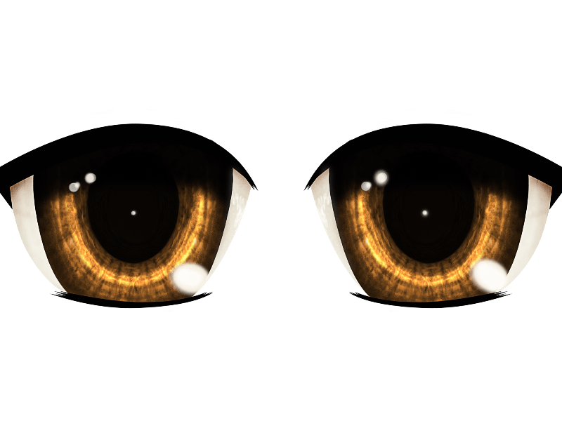 Anime Manga Eyes PNG  Isolated Objects    Textures for Photoshop Anime Manga Eyes PNG